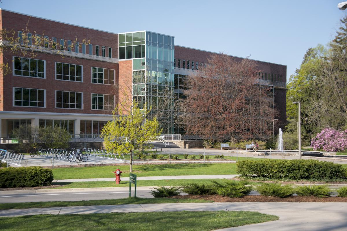 Michigan State University Main Library building