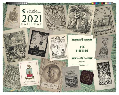 Cover of MSU Libraries 2021 Calendar