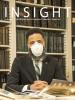 Cover of Spring INSIGHT featuring Professor Pero Dagbovie